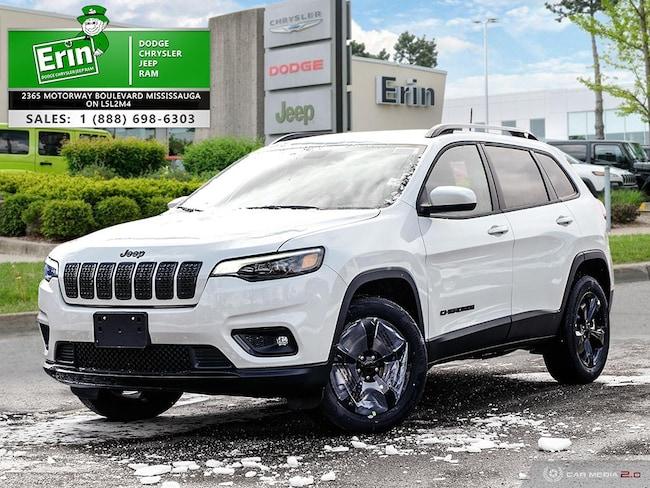 2019 Jeep New Cherokee NORTH ALTITUDE 4X4   PEARL WHITE   COLD WEATHER GR SUV