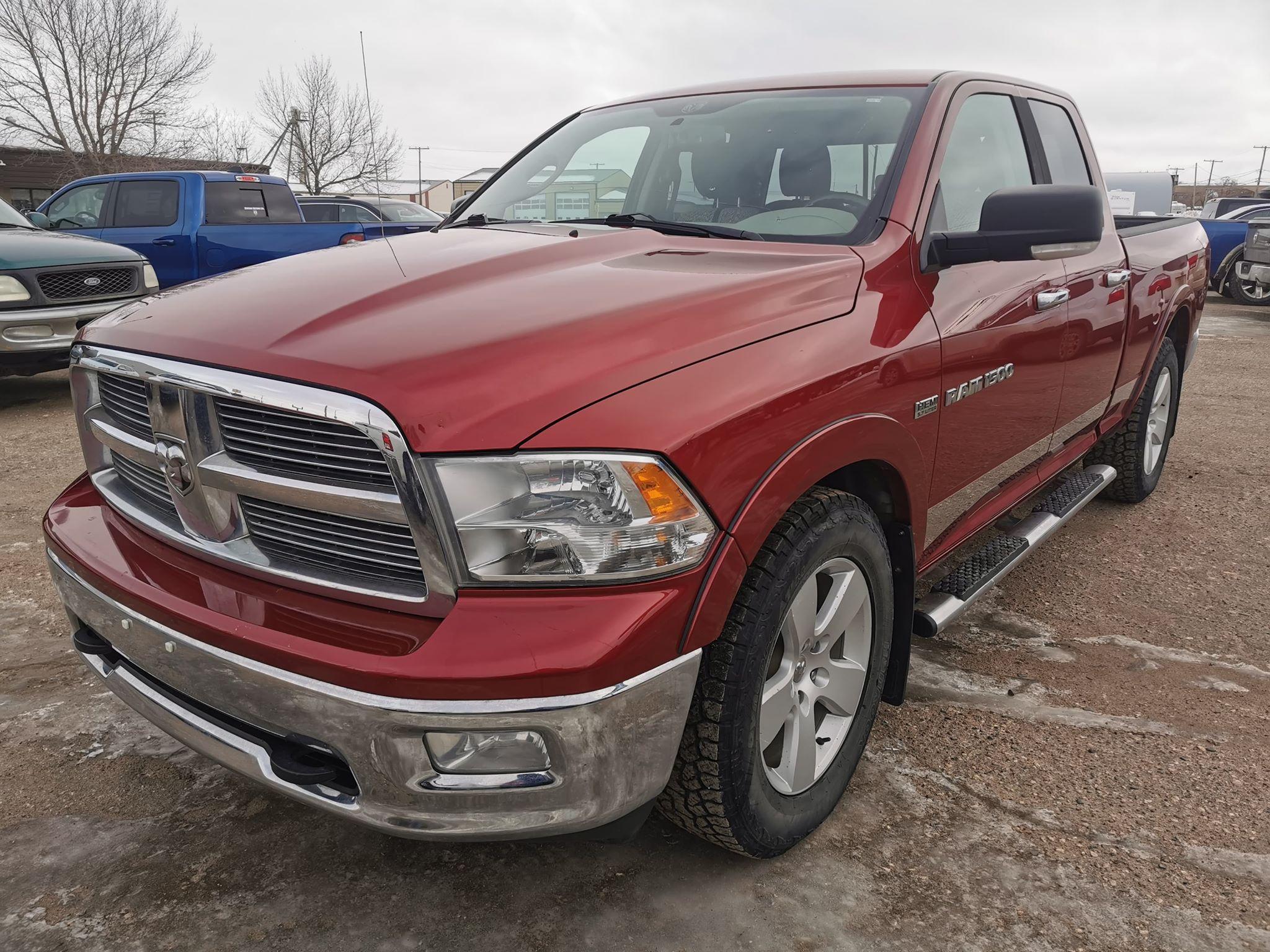 Featured used 2011 Ram 1500 SLT Truck Quad Cab for sale in Estevan, Saskatchewan