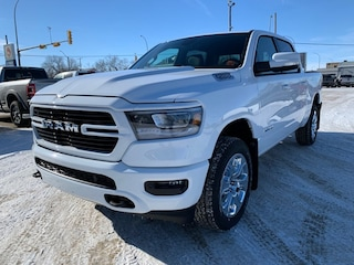 New 2020 Ram 1500 Big Horn North Edition Truck Crew Cab 1C6SRFFT2LN146398 for sale in Estevan, Saskatchewan