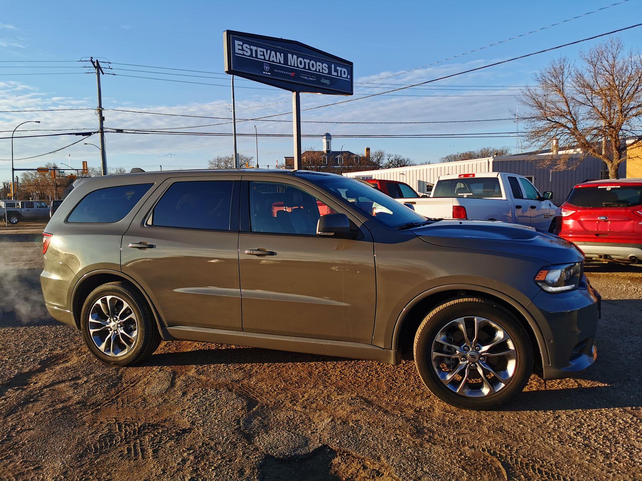Featured used 2019 Dodge Durango R/T SUV for sale in Estevan, Saskatchewan