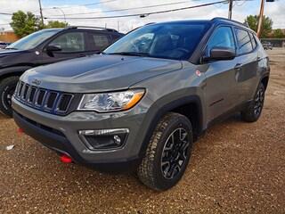 New 2020 Jeep Compass Trailhawk SUV 3C4NJDDB6LT104201 for sale in Estevan, Saskatchewan