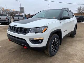 New 2020 Jeep Compass Trailhawk SUV 3C4NJDDB8LT104202 for sale in Estevan, Saskatchewan
