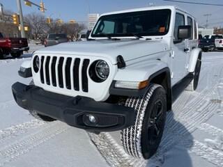 New 2020 Jeep Wrangler Unlimited Sahara Altitude SUV 1C4HJXEG2LW160025 for sale in Estevan, Saskatchewan