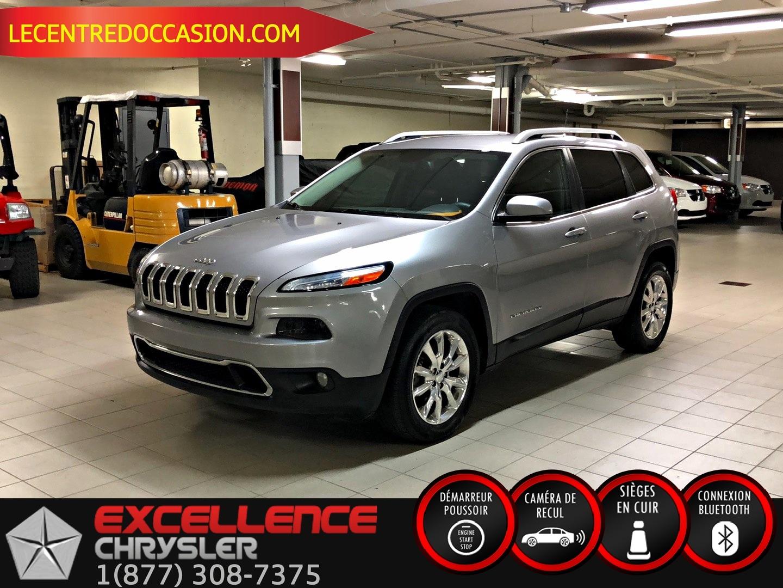 2016 Jeep CHEROKEE  LIMITED *CUIR/NAV/CAMERA* VUS