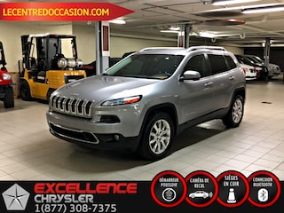 2016 Jeep CHEROKEE  LIMITED *CUIR/NAV/CAMERA* VUS