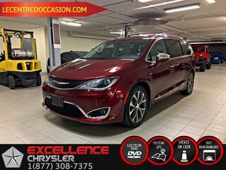 2017 Chrysler Pacifica LIMITED PLUS *CUIR/TOIT/NAV/DVD/TECH/CAMERA* Van Passenger Van