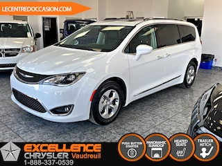 2017 Chrysler Pacifica TOURING L PLUS *CUIR/TOIT/CAMERA RECUL/HITCH* Van Passenger Van