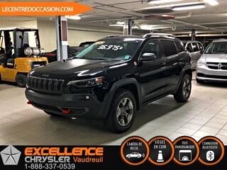 2019 Jeep  Cherokee TRAILHAWK ELITE 4X4 *CUIR/TOIT/NAV/CAMERA* VUS