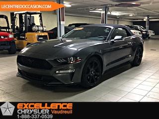 2018 Ford Mustang  CONVERTIBLE PREMIUM *CUIR/NAV/CAMERA* Décapotable ou cabriolet