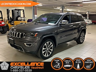 2018 Jeep Grand Cherokee LIMITED 4X4 *CUIR/TOIT/NAV/CAMERA RECUL* VUS