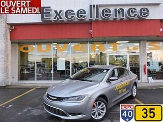 2015 Chrysler 200 Limited* bluethoot*ecran 8.4 p*8 pneus Sedan