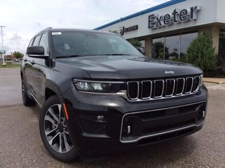 2021 Jeep All-New Grand Cherokee L Overland I U-Connect 5 W/Nav I 7 Passenger I Leath 4x4