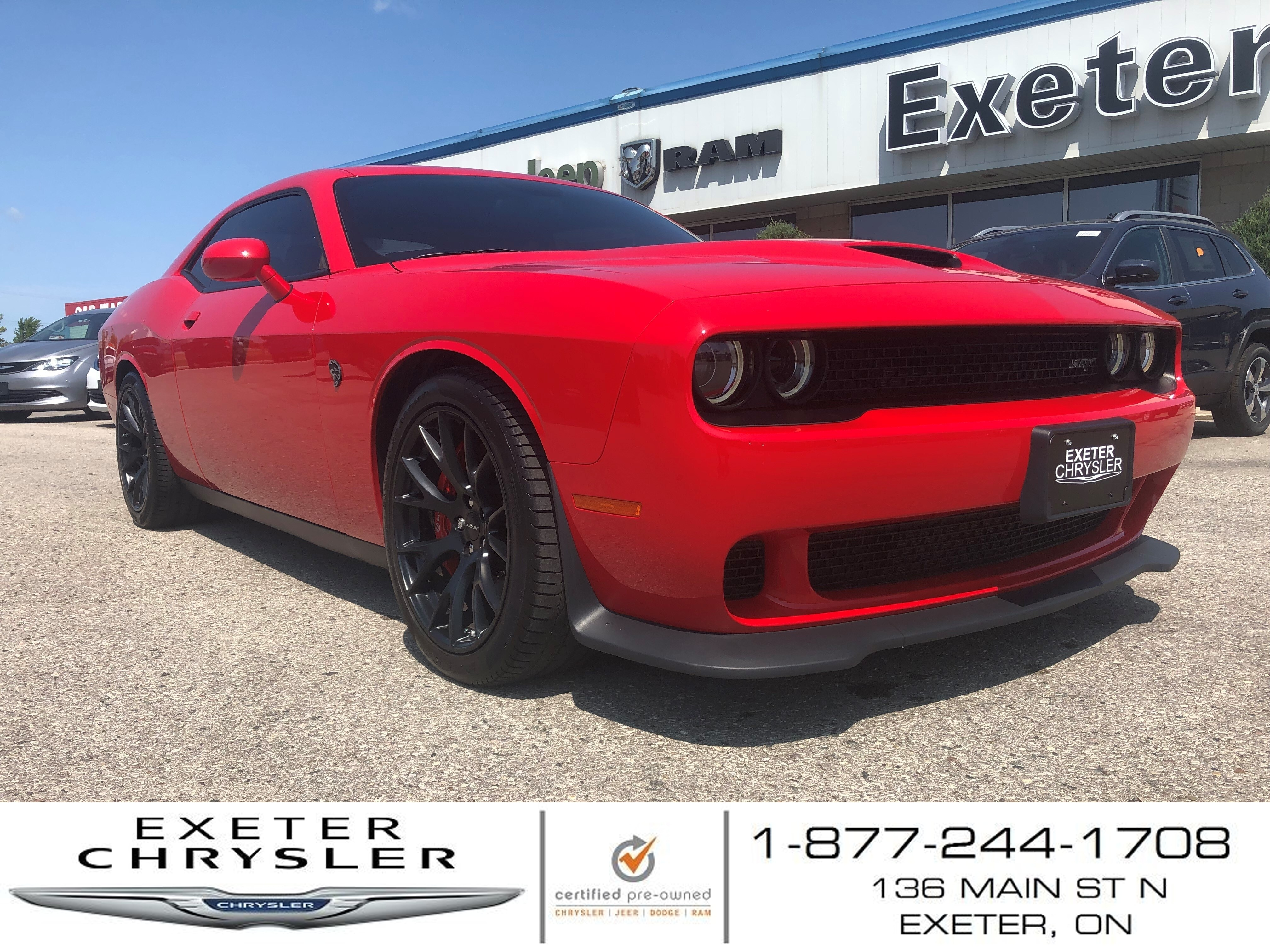 2015 Dodge Challenger SRT Hellcat l 6-Speed Manual TREMEC Trans. Coupé