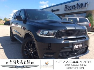2019 Dodge Durango R/T V8 HEMI AWD l Black Top Pkg l Sunroof SUV