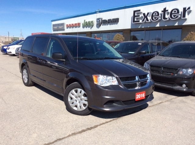 2016 Dodge Grand Caravan SXT Stow'N'Go l Rear Power Windows l Rear AC Van Passenger Van