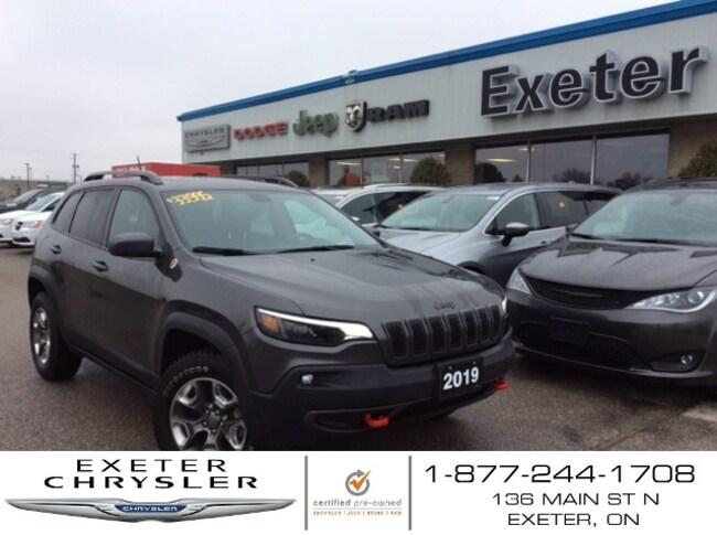 2019 Jeep Cherokee Trailhawk Elite V6 l Pano Roof l NAV l Leather SUV