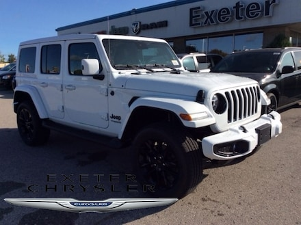 2021 Jeep Wrangler Unlimited High Altitude / Power Top / Quilted Leather / Adva SUV
