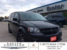 2017 Dodge Grand Caravan SXT l Black Top Pkg. l One Owner Van Passenger Van