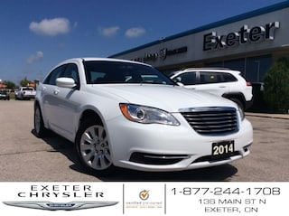 2014 Chrysler 200 LX l One Owner l No Accident's Sedan
