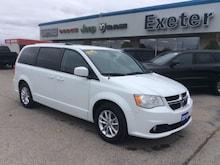 2018 Dodge Grand Caravan SXT Premium Plus, NAV, DVD, Leather, Power Doors Van Passenger Van