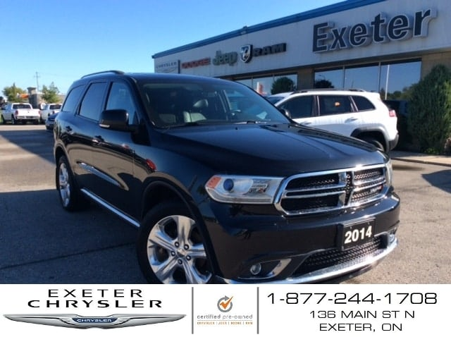 2014 Dodge Durango Limited AWD l Leather l Sunroof  VUS