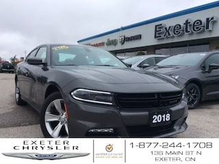 2018 Dodge Charger SXT Plus l Heated Seats l Sunroof l Safety Pkg. Sedan