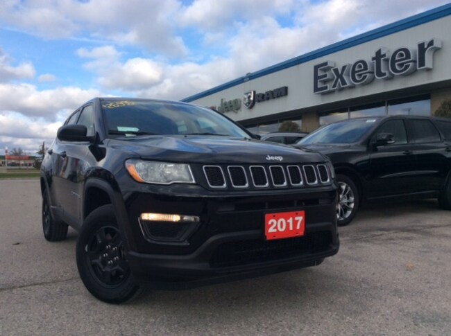 2017 Jeep New Compass Sport l Heated Seats & Wheel l Only 340km's!!! SUV