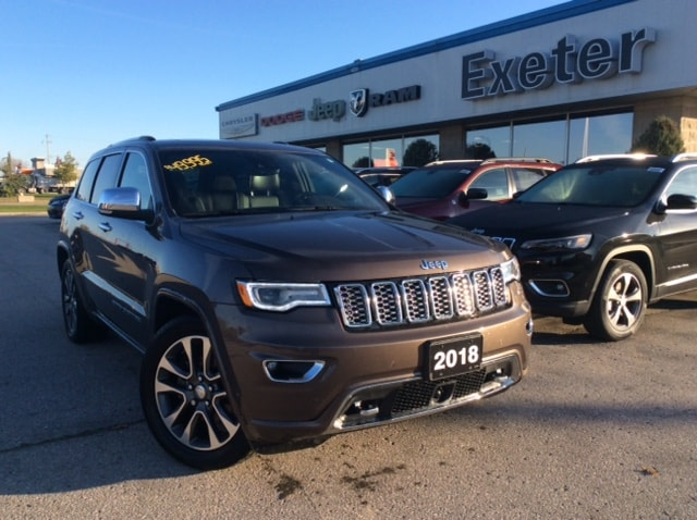 2018 Jeep Grand Cherokee Overland Dealer Demo l Advanced Safety Pkg. SUV