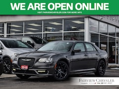 2019 Chrysler 300 S l BLIND-SPOT l HEATED/VENTED SEATS l Sedan