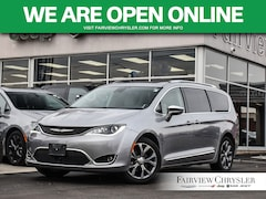2019 Chrysler Pacifica Limited l PANO ROOF l NAV l HEATED LEATHER l Van Passenger Van