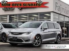 2019 Chrysler Pacifica Limited l PANO ROOF l NAV l HEATED LEATHER l Van Passenger Van