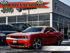 2016 Dodge Challenger R/T SHAKER l SUNROOF l NAV l HEATED/VENTED SEATS l Coupe
