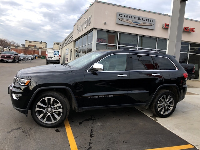 Used 2018 Jeep Grand Cherokee Limited l Luxury Group II l