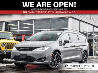 2020 Chrysler Pacifica Limited Van l DUAL DVD l TOW PKG l RED LEATHER l