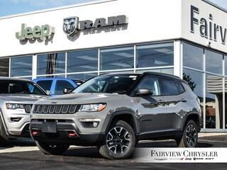 2020 Jeep Compass Trailhawk SUV l TOW PKG l LEATHER l PANO ROOF l NAV l