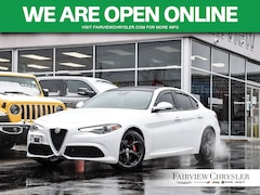 2018 Alfa Romeo Giulia Ti l SPORT l RED LEATHER l SUNROOF l Sedan
