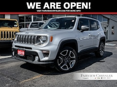 2019 Jeep Renegade Limited 4x4 l NAV l SUNROOF l HEATED LEATHER l SUV