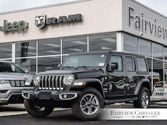 2020 Jeep Wrangler Unlimited Sahara SUV l DUAL TOP l HEATED LEATHER l NAV l