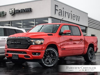 2020 Ram 1500 Big Horn Night Edition Truck Crew Cab l CREW l PANO ROOF l ALPINE AUDIO l NAV l