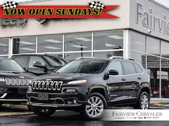 2016 Jeep Cherokee Overland l PANO ROOF l HEATED SEATS l BLINDSPOT l SUV