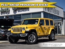 2019 Jeep Wrangler Unlimited Sahara 4x4 l BRAND NEW l SKY TOP ROOF l SUV