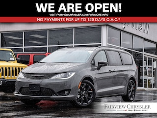 2020 Chrysler Pacifica Limited Van l DUAL DVD l RED LEATHER l POWER DOORS l