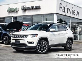 2019 Jeep Compass Limited SUV l PANO ROOF l BEATS AUDIO l NAV l