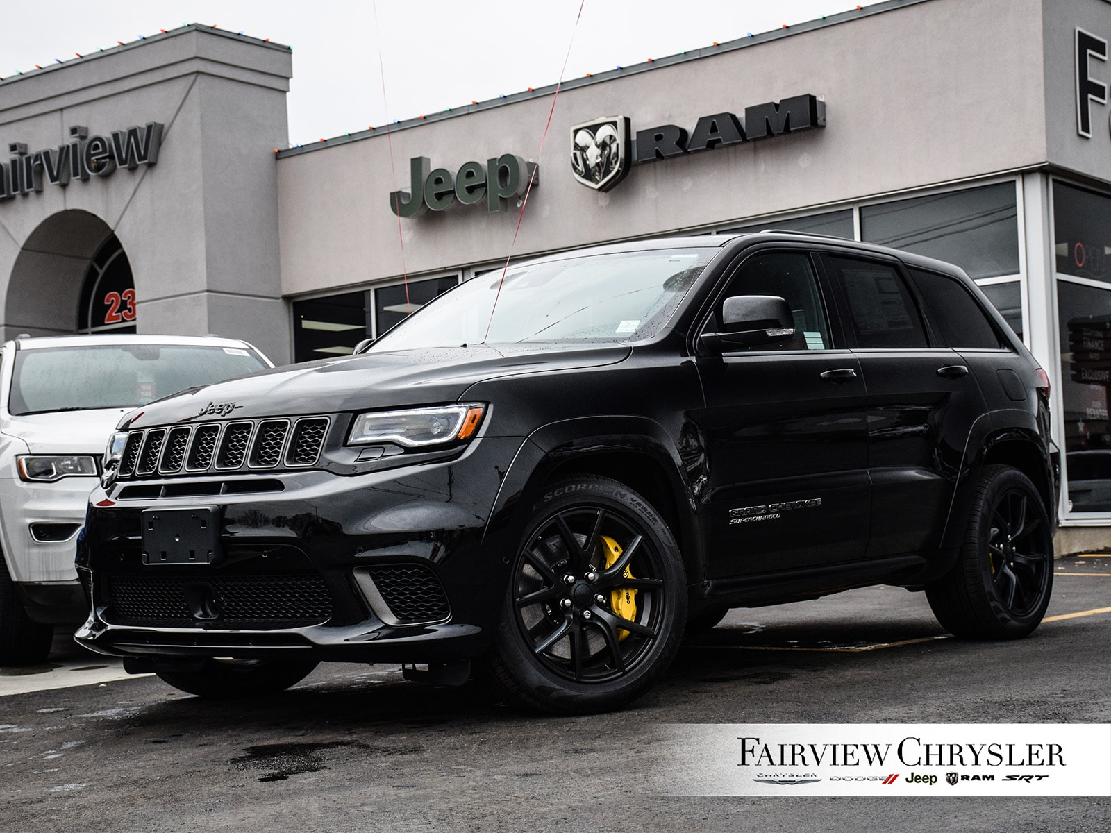 2018 Jeep Grand Cherokee Trackhawk SUV | 707HP | RED LEATHER | SUNROOF |