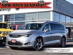 2019 Chrysler Pacifica Limited l PANO ROOF l ADVANCED SAFETY PKG l NAV l Van Passenger Van