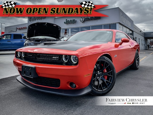 Certified Pre-Owned 2017 Dodge Challenger SRT 392   NAV   Heated/Vented Seats   Sunroof Coupe in Hamilton, Burlington