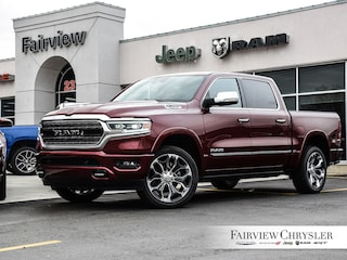 2019 Ram All-New 1500 Limited Truck Crew Cab   22 INCH WHEELS   DUAL PANE ROOF   LOADED