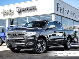 2020 Ram 1500 Limited Truck Crew Cab l CREW l MULTI-FUNCTION TAILGATE l PANO ROOF l