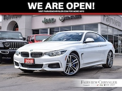 2018 BMW 4 Series 440i xDrive Coupe l SUNROOF l NAV l  RED LEATHER l Coupe