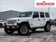2021 Jeep Wrangler Unlimited Sahara 4x4